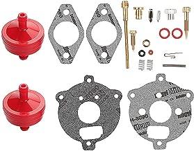 Harbot 394693 398235 295938 Carburetor Overhaul Rebuild Kit for 7-9 HP Horizontal Up-Draft Float Carburetors Toro 38150 38155 38570 Snowblower 58170 Tiller with Fuel Filter