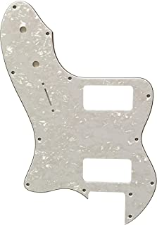 For Fender 72 Telecaster Thinline TV Jones Guitar pickguard Scratch Plate (4 Ply White Pearl)