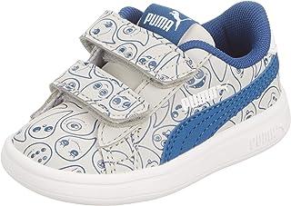 Puma Smash v2 Monster Family VPS, Boys' Sneakers, Blue, 28 EU
