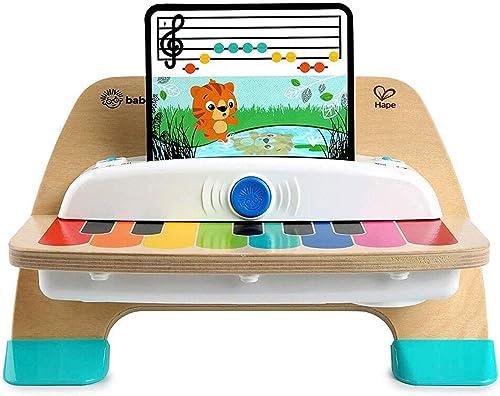 Baby Einstein Hape, Piano Magic Touch, jouet musical en bois, comprend 3 partitions et 6 chansons différentes, à part...