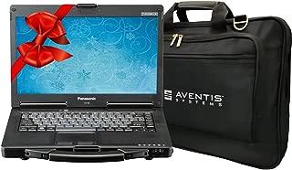 Panasonic Toughbook CF-53 Laptop PC Bundle with Laptop Bag, Intel i5-2520M, 16GB RAM, 1TB SSD, Windows 10 (Renewed)