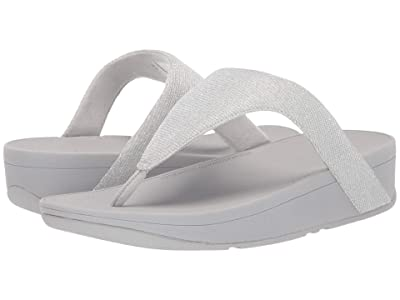 FitFlop Lottie Glitzy (Silver) Women