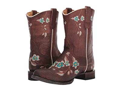 Roper Alabama (Distressed Metallic) Cowboy Boots