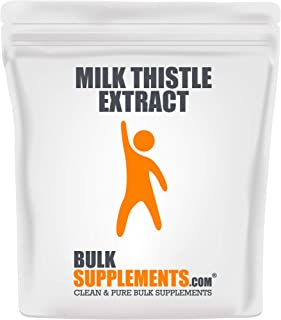 Sponsored Ad - BulkSupplements Milk Thistle Extract Powder (250 Grams)