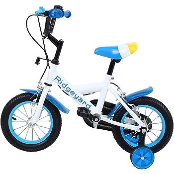 MuGuang 12 Pulgadas Bicicleta Infantil Estudio Aprendizaje Montar ...