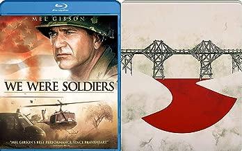 Explosive battle Blu-ray Steelbook The Bridge On the River Kwai + We Were Soldiers 2-Movie Bundle Double Feature War
