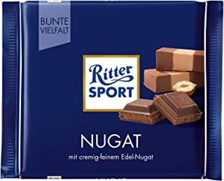 Ritter Sport Praline Chocolate Bar Candy Original German Chocolate 100g/3.52oz
