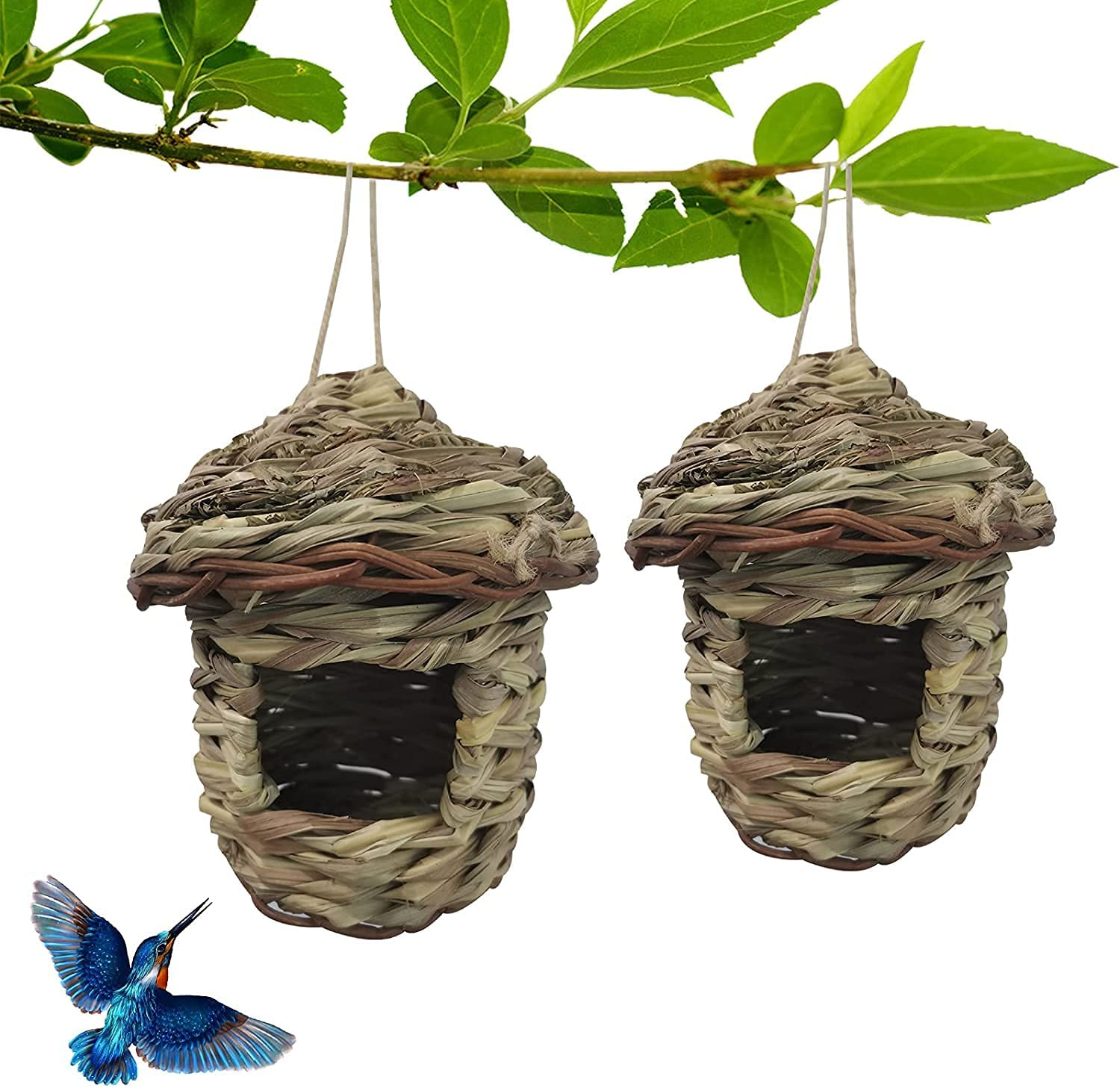 Hummingbird Houses New arrival for Popular product Nests Outdoors Outside