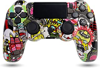 $36 » Sponsored Ad - Wireless PS4 Controller, Game Controller for Playstation 4 with Double Vibration and Charging Cable (Cartoons)