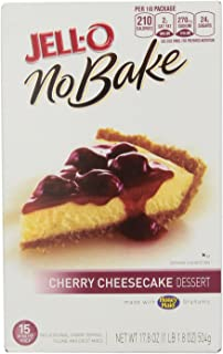 Jell-O No-Bake Cherry Cheesecake Dessert, 17.8 oz
