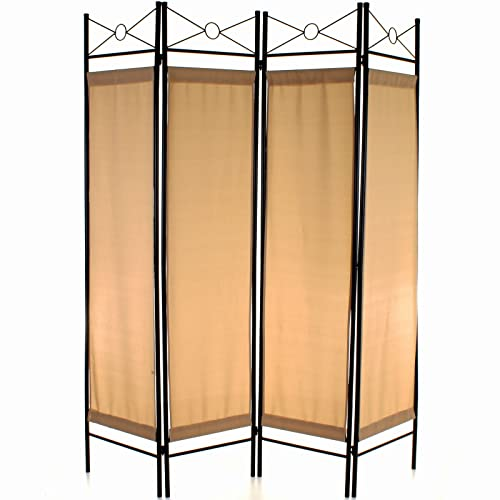 Folding Room Divider 3 Panel Wall Privacy Screen Protector Paravent Partition