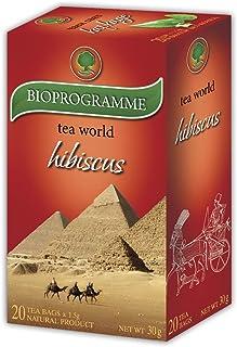 Thé Hibiscus Herbal Premium - Té inferior a presión (20 bolsitas, 50 g)