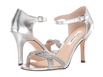 Nina Valency (Silver) High Heels