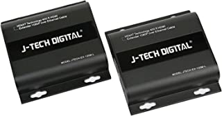 J-Tech Digital HDbitT HDMI Extender ONE to Many Full HD 1080p Over TCP/IP Ethernet/Over Single Cat5e/cat6 Cable HDMI1.4 with IR Remote - Up to 400 Ft