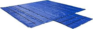 Truck Flatbed Trailer Tarps Lightweight Lumber Tarp 24' x 27' (8' Drop) (24' x 27' (8' Drop) - Blue)