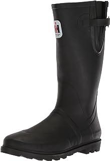 حذاء برقبة حريمي من AdTec مطاطي مقاس 35.56 سم، مقاوم للماء للصيد، صيد السمك، المشي لمسافات طويلة أو العمل في المزرعة، أسو...