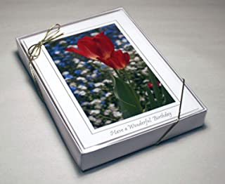 Cleartop Greeting Card Box, For 5
