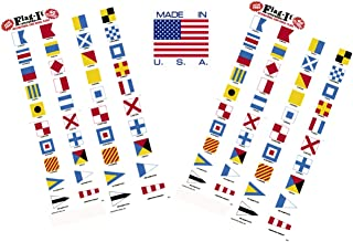 Best nautical flag stickers Reviews