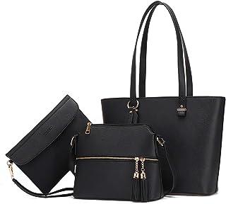 JOSEKO Handtasche Damen Tasche Damen Shopper Damen Groß Schultertasche Handtaschen Damen Groß Designer Elegant Umhängetasc...