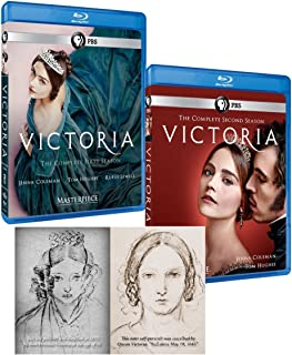 Masterpiece: Victoria – Seasons 1 & 2 Bluray Set With Bonus Self-Portrait Postcard