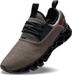 a31c262c27ff5 Wonesion Herren Fitness Laufschuhe Atmungsaktiv Rutschfeste Mode Sneaker  Sportschuhe, ,