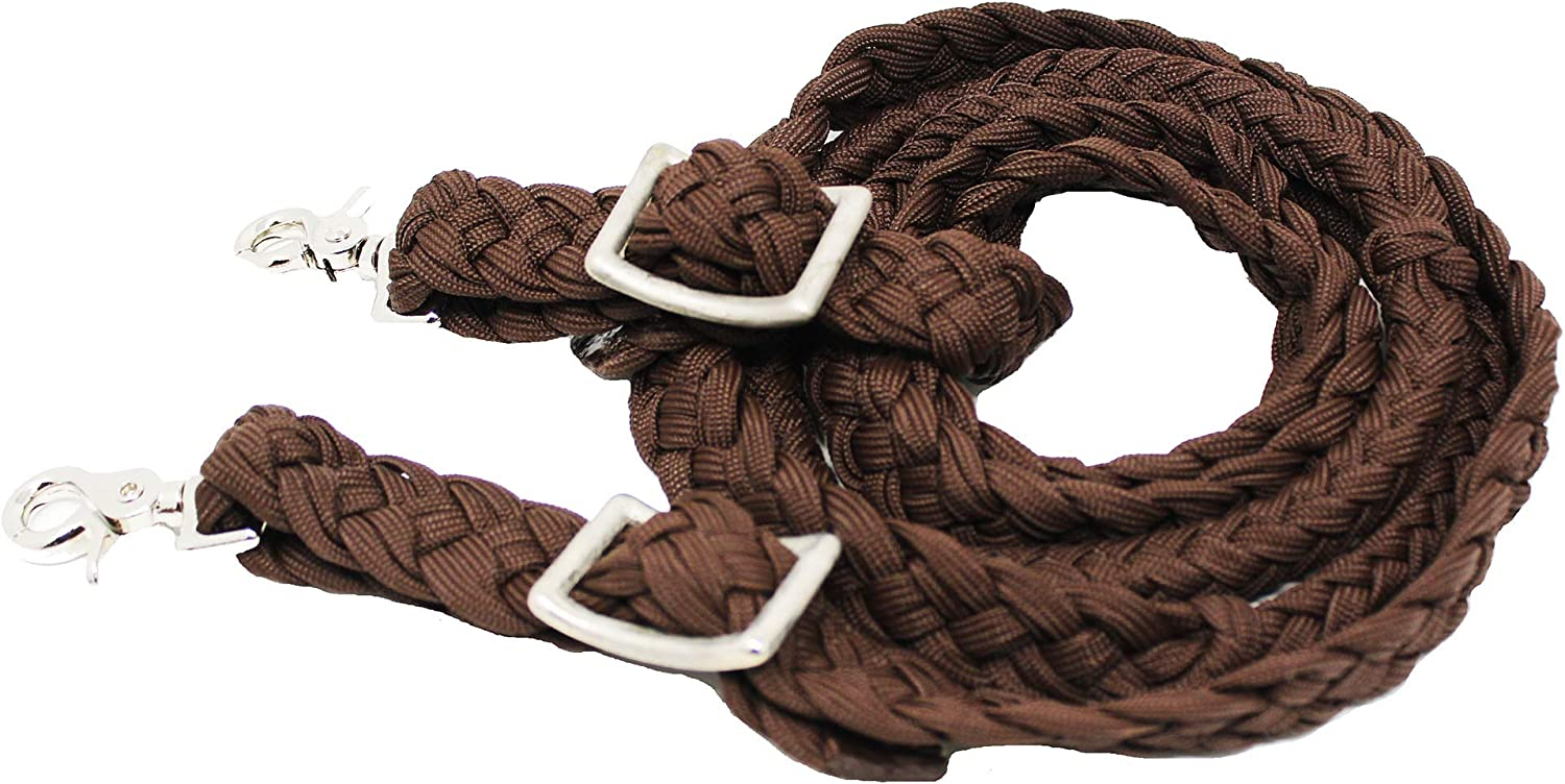CHALLENGER Roping Knotted Horse Popular popular Tack Rein Barrel New Shipping Free N Reins Western