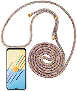 comprar comparacion XCYYOO Carcasa de movil con Cuerda para Colgar Samsung Galaxy A70【Versión Popular 2019】 Funda para iPhone/Samsung/Huawei c...