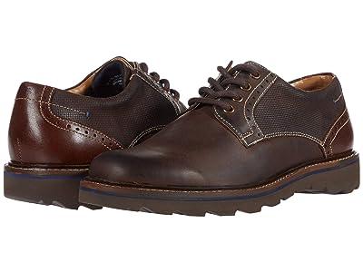 Nunn Bush Buchanan Plain Toe Oxford (Brown CH) Men