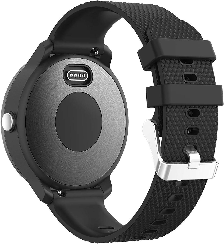 Malla para reloj Vivoactive 3 / 645 Music (color negra)