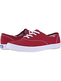 Women's Keds Red Shoes + FREE SHIPPING