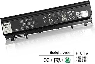 ZWXJ Laptop Battery VVONF (11.1V 65WH) for Dell Latitude E5440 E5540 N5YH9 VJXMC 0M7T5F 0K8HC 1N9C0 7W6K0 F49WX NVWGM CXF66 WGCW6 VV0NF 3K7J7 970V9 9TJ2J 0NVWGM