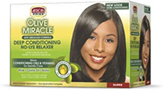 African Pride Miracle Deep Conditioning Relaxer System Super