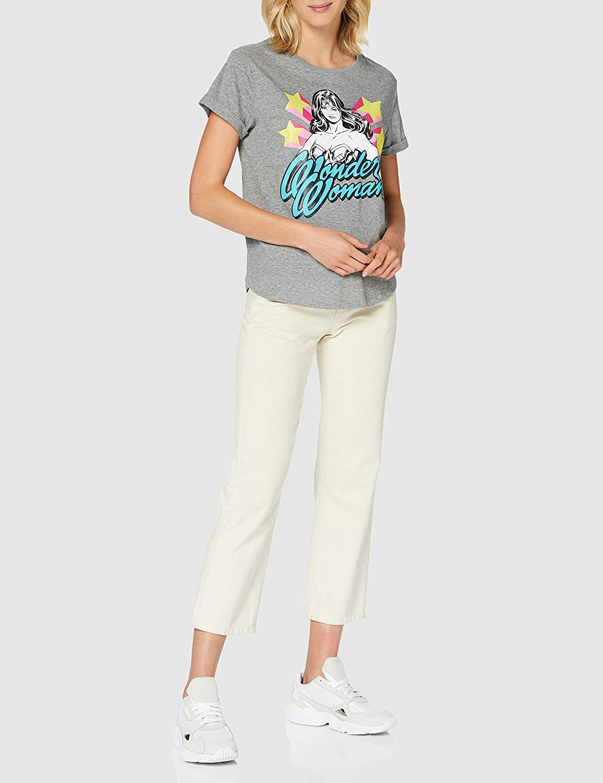 DC Comics Wonder Woman-WW Stance T-Shirt Donna