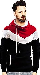 Leotude Men's Regular Fit Cotton Hoodie