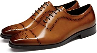Sponsored Ad - GIFENNSE Men's Dress Shoes Genuine Leather Business Oxford Formal Wedding for Men