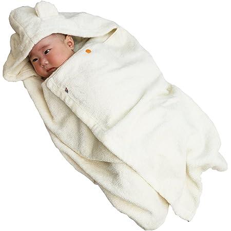 今治タオル imabari towel 出産祝い 日本製 オーガニックコットン ベビーバスローブ バスポンチョ ギフトセット