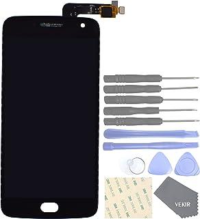 VEKIR LCD Touch Digitizer Sostituzione Schermo Vetro per Motorola Moto G5 Plus (Nero)