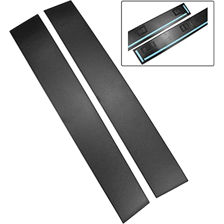 Driver and Passenger Side B Pillar Trim Cover Front Windshield Outer Door Molding Compatible with Chrysler Town & Country and Dodge Grand Caravan Replace 926-445 926-446 5020664AA 5020665AC