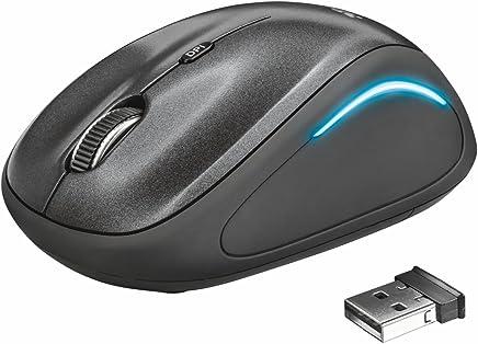 Trust Yvi FX Mouse Wireless, Nero - Trova i prezzi più bassi