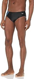 Speedo Men's Powerflex Eco Revolve Splice Brief Swimsuit Swimsuit