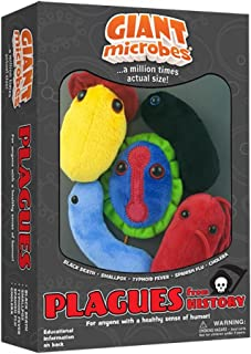 GIANTmicrobes Themed Gift Box - Plagues from History