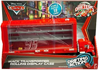Cars Micro Drifters Mack Display Case Vehicle Playset
