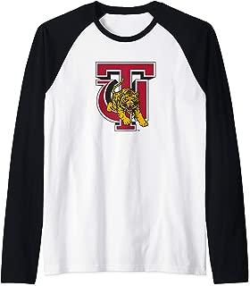 Tuskegee University Golden Tigers NCAA PPTUS02 Raglan Baseball Tee