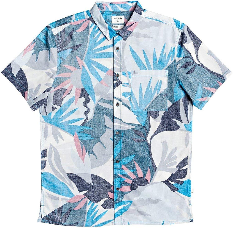 Quiksilver Mens Tropical Flow Short Sleeve