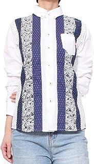 シャツ メンズ 長袖/河谷シャツ Hockney (ホックニー) カジュアル 長袖シャツ / k2011106