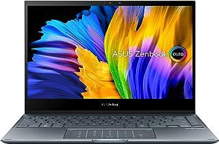 ASUS ZenBook Flip13 UX363EA-OLED101W (Pine Grey)- Intel EVO-certified 11th Gen Core i7-1165G7 2.8 GHz, 16GB RAM, Intel Iri...