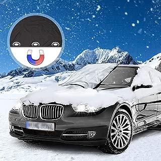 Solawill Autoscheibenabdeckung Frostschutz Eisschut Windschutzscheibe Abdeckung