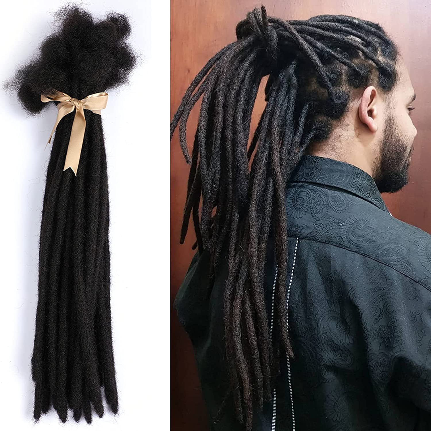 Dreadlock Extensions Alimice Loc Human Inch Hair 20 New mail Today's only order -