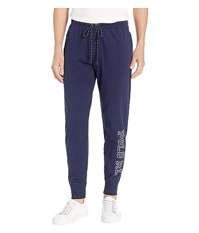 Polo Ralph Lauren Jersey Jogger Pants (Cruise Navy/Nevis Polo RL) Men