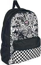 VANS MARVEL WOMAN Backpack Real Black Schoolbag VN0A3QXCBLK VANS MARVEL Bags